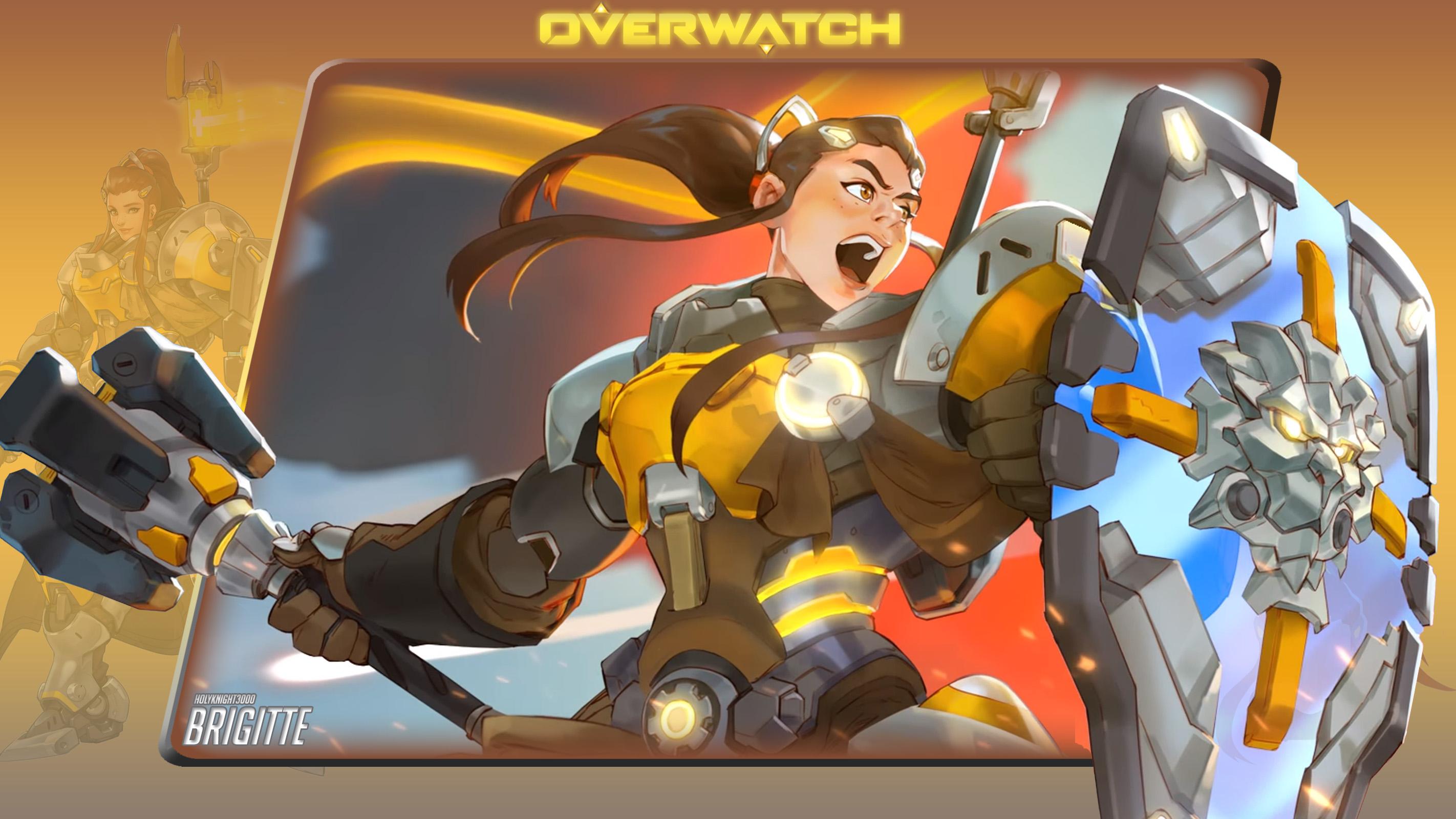 wallpaper overwatch 12 brigitte overwatch