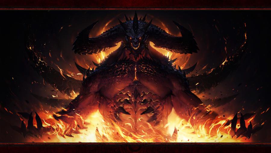 Diablo Immortal #1: Diablo (No Logos) by Holyknight3000