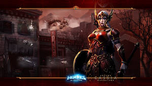 HotS #17: Cassia - Amazon Warmatron by Holyknight3000