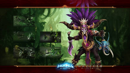 HotS #18: Nazeebo: Heretic Witch Doctor by Holyknight3000