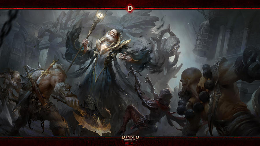 Diablo Immortal #4: Zoltan Kulle by Holyknight3000