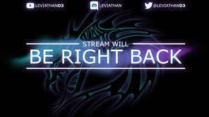 LeviathanD3: Be Right Back Screen by Holyknight3000