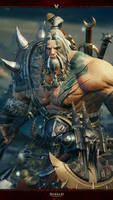 Diablo Immortal Mobile #5: Barbarian by Holyknight3000