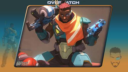 Overwatch #14 Baptiste by Holyknight3000