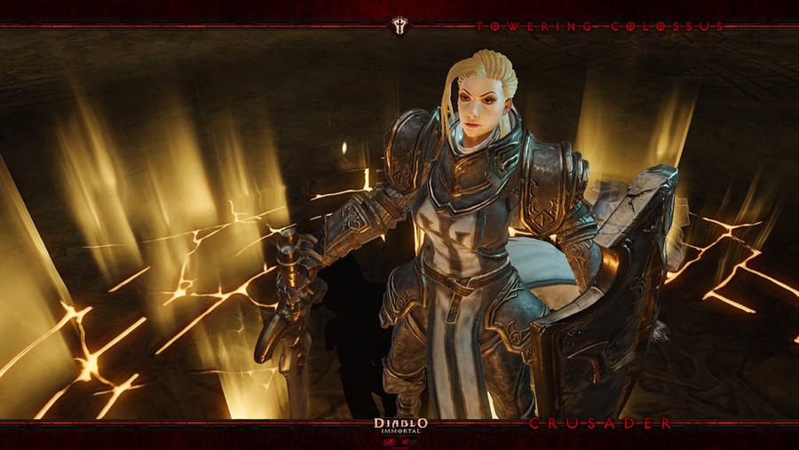 Diablo Immortal #6: Crusader by Holyknight3000