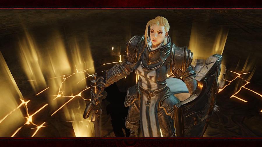 Diablo Immortal #6: Crusader No Logo by Holyknight3000