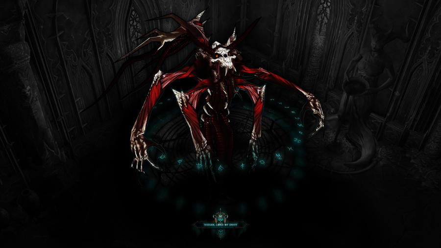 Bestiary III #1 - Vidian: Lord of Envy