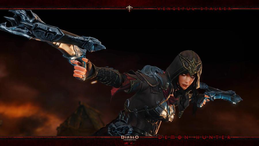 Diablo Immortal #7: Demon Hunter by Holyknight3000