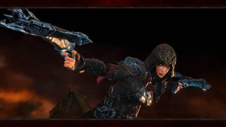 Diablo Immortal #7: Demon Hunter (No Logos) by Holyknight3000