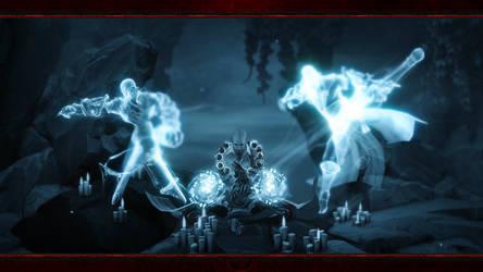 Diablo Immortal #8: Monk (No Logos) by Holyknight3000