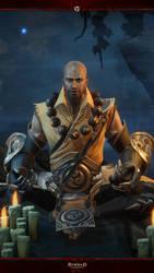 Diablo Immortal Mobile #8: Monk by Holyknight3000