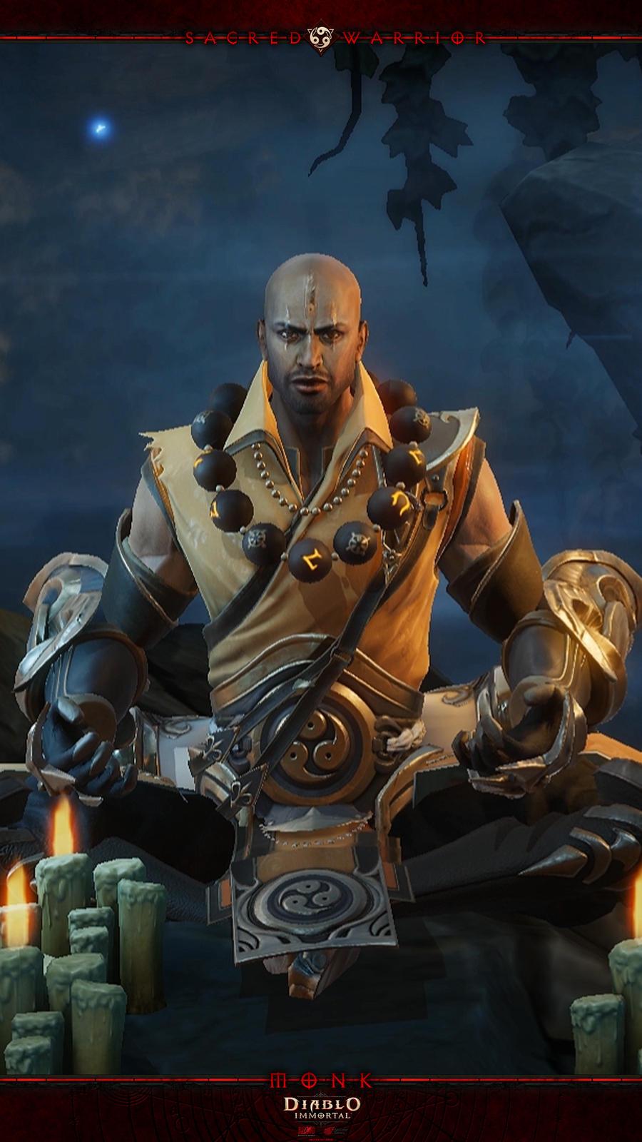 Diablo Immortal Mobile #8: Monk