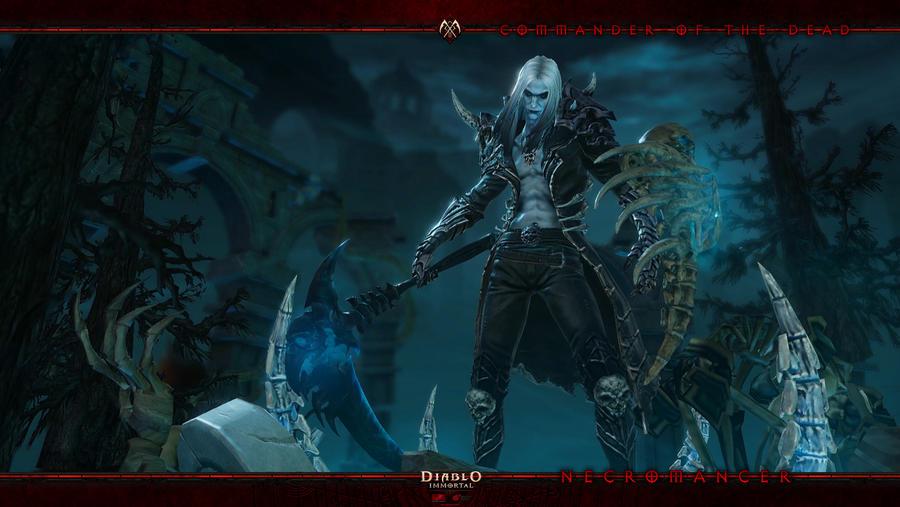 Diablo Immortal #9: Necromancer by Holyknight3000
