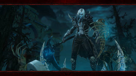 Diablo Immortal #9: Necromancer (No Logos) by Holyknight3000