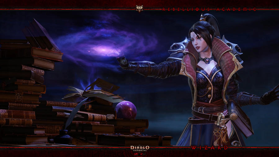 Diablo Immortal #10: Wizard by Holyknight3000