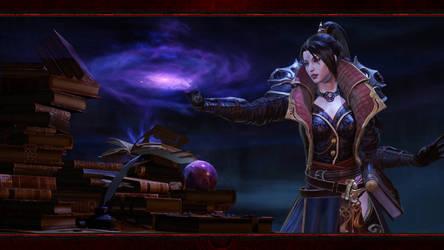 Diablo Immortal #10: Wizard (No Logos) by Holyknight3000