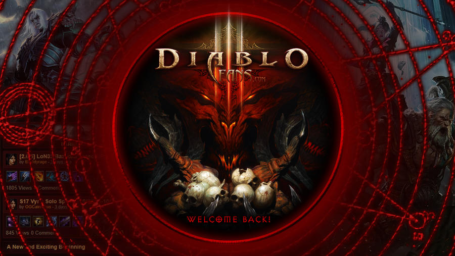 Diablofans A Welcome Back Tribute