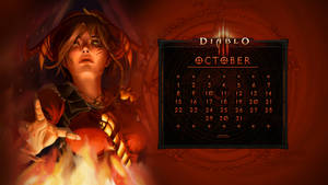 Calendar #37: Uni October - Leah