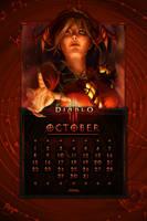 Cal. Mobile #33: Uni October: Leah