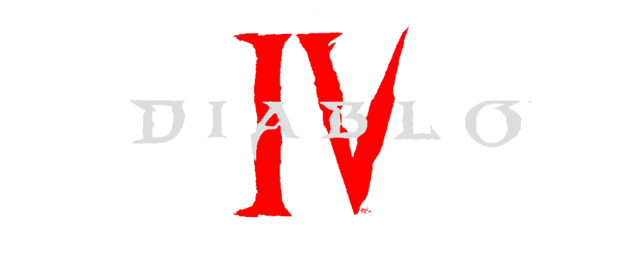 Diablo 4 Logo Mock