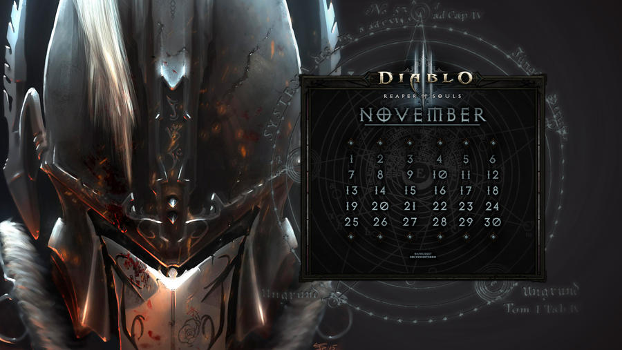 Calendar #38: Uni November - Roland's Ascension
