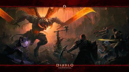 Diablo Immortal 2021 #3 Skarn by Holyknight3000
