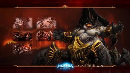 HotS #21: Azmodan - Lord of Sin by Holyknight3000
