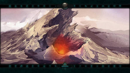 Locations III #8: Arreat Crater II by Holyknight3000