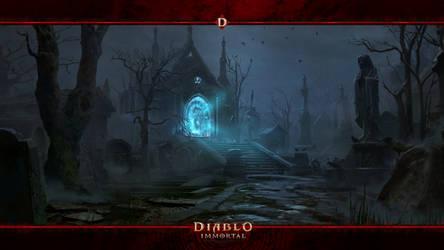 Diablo Immortal 2021 #4: The Ashwold Cemetery