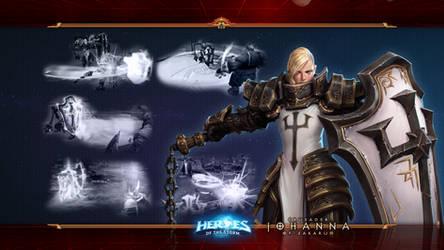 HotS #22: Johanna - Crusader of Zakarum 2.0 by Holyknight3000