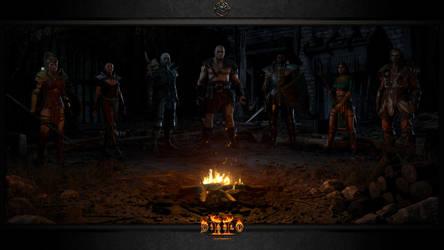 Diablo II: Resurrected #3: The Campfire by Holyknight3000