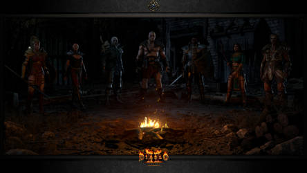 Diablo II: Resurrected #3: The Campfire