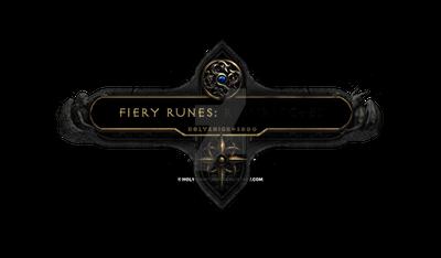 Fiery Runes: [Redacted] Nameplate