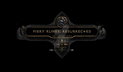 Fiery Runes: Resurrected Nameplate Complete