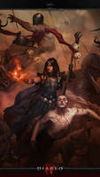 Diablo IV Mobile #6c: Heroes - Sorceress