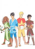 Benders of Olympus by Sandra-13