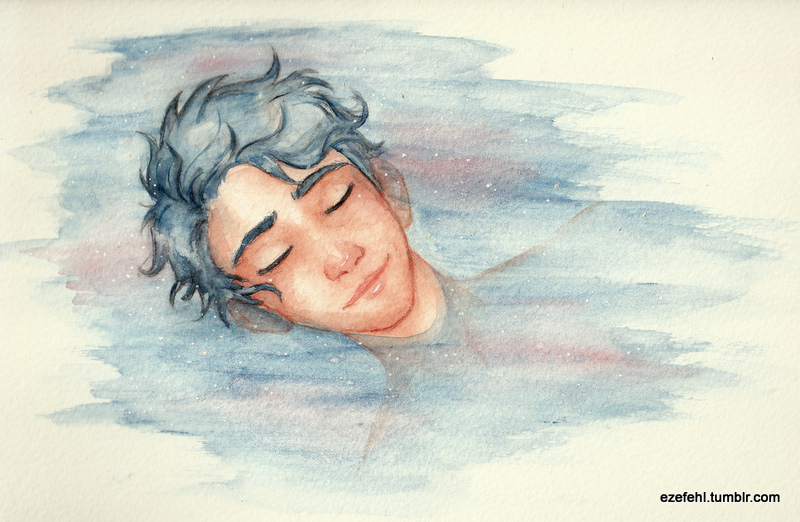 Son of the sea god by Sandra-13