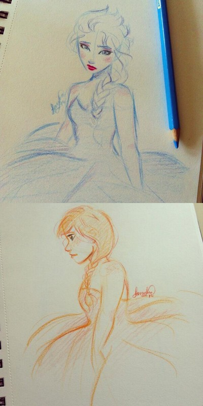 Elsa Anna by Sandra-13