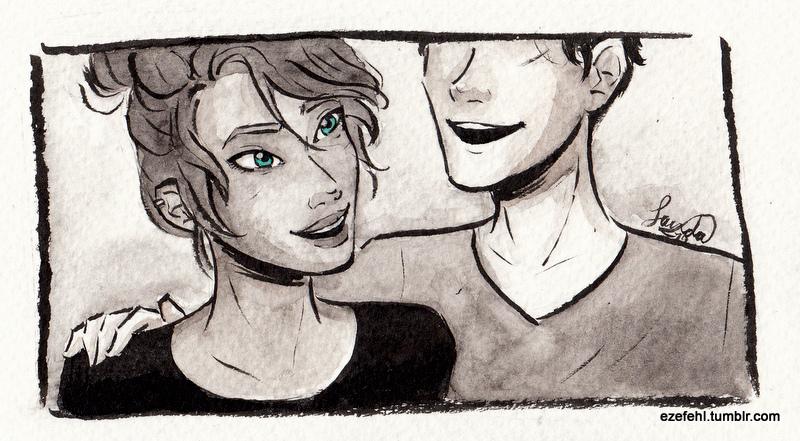 Her eyes... by Sandra-13
