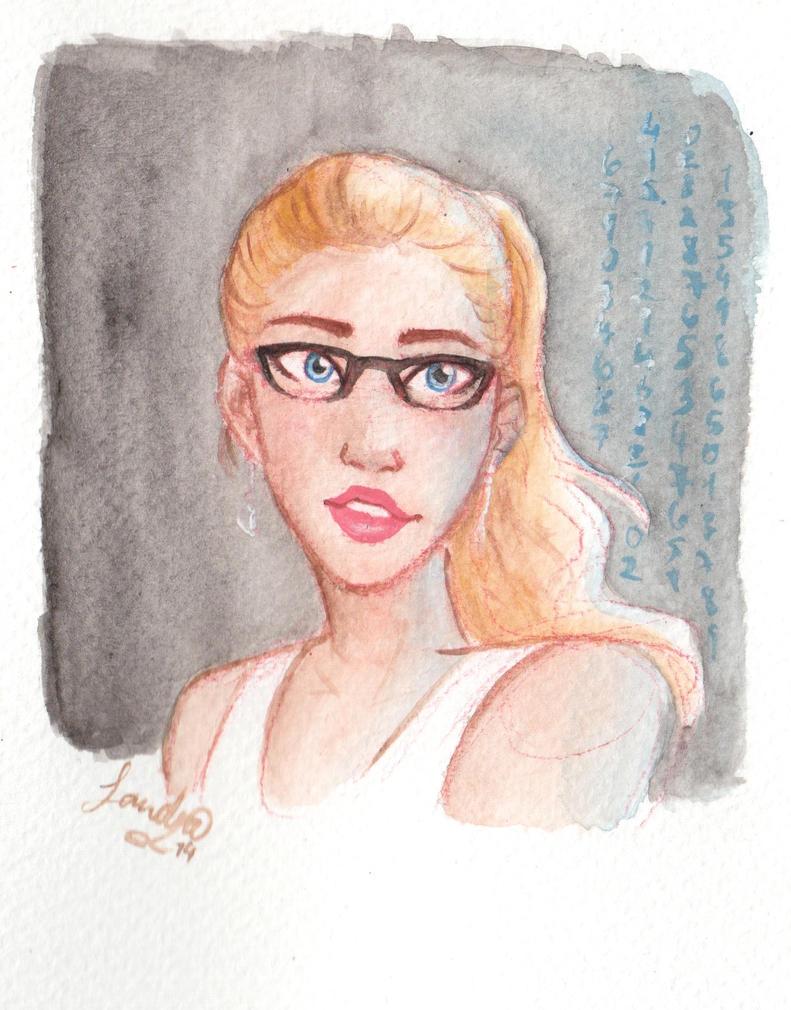 Felicity Smoak by Sandra-13