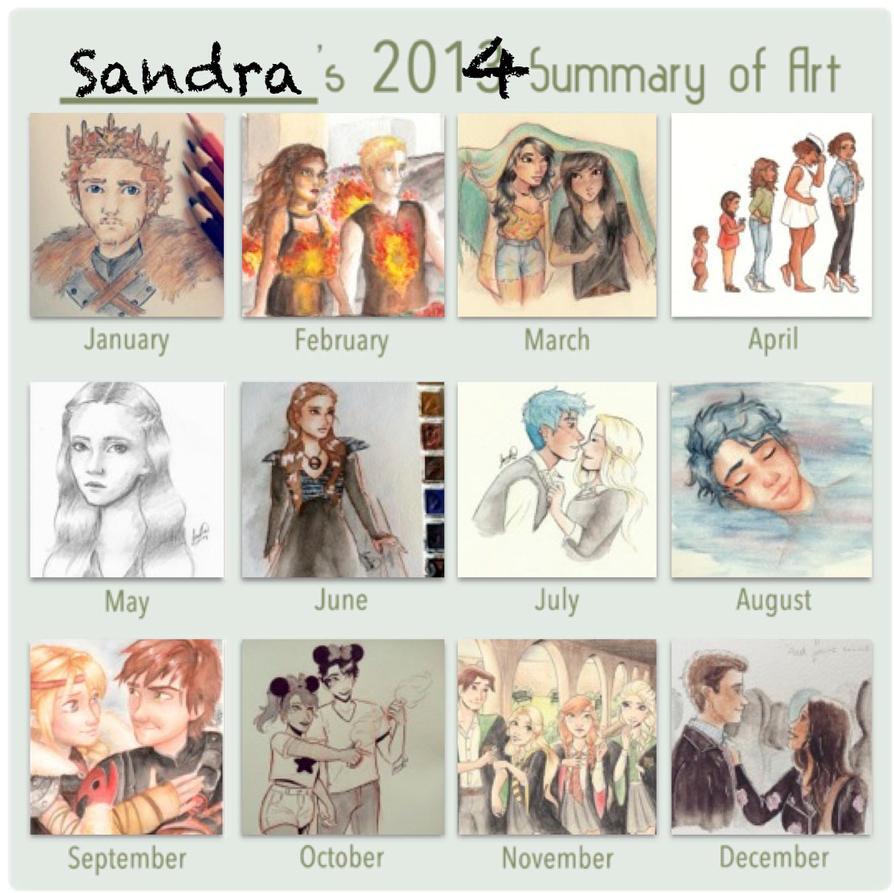 Art Summary 2014 by Sandra-13