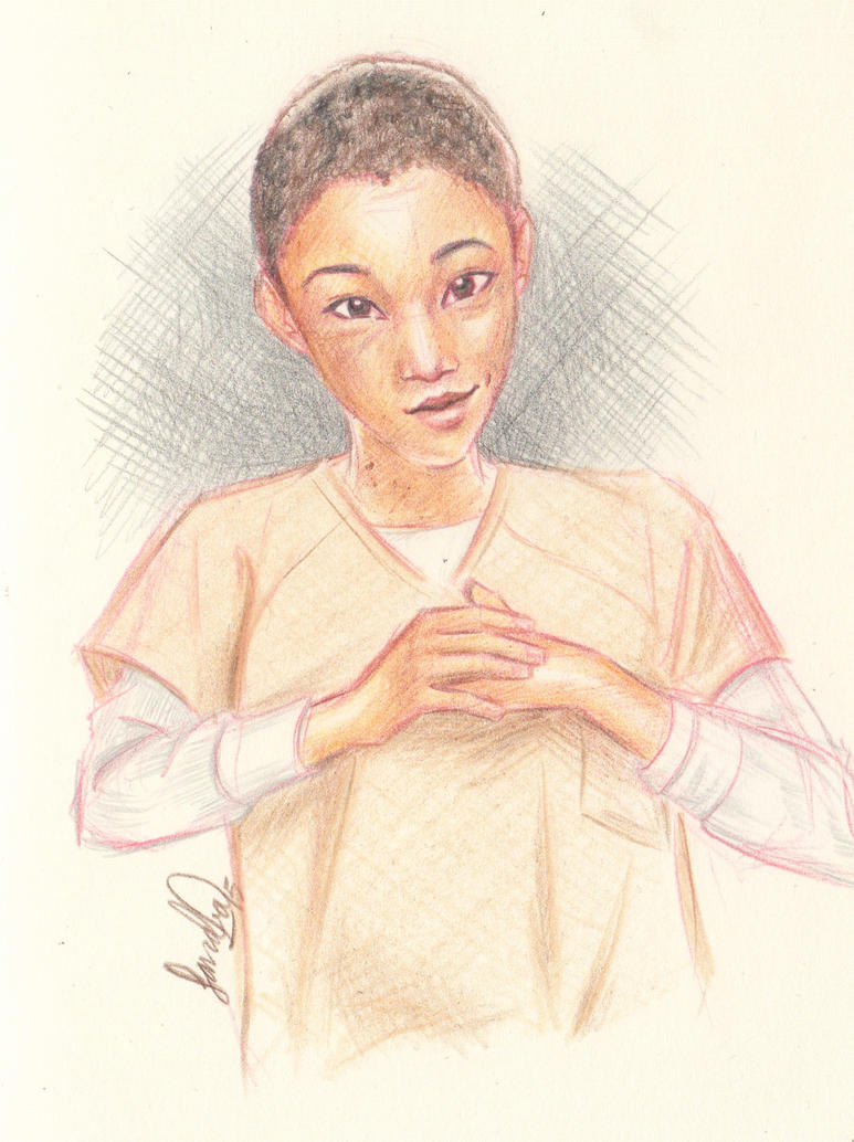 The name's Poussey by Sandra-13
