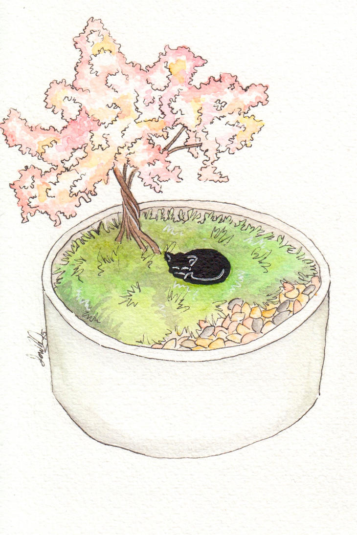 Cherry Blossom Tree by Sandra-13