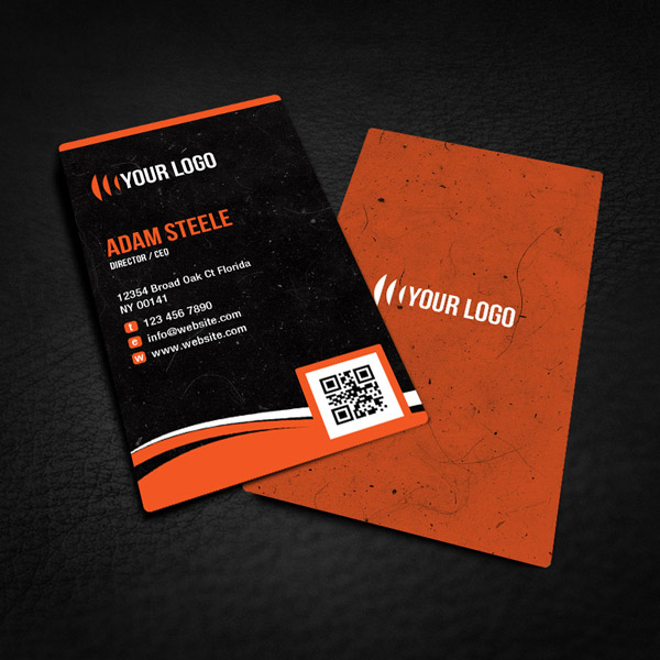 Free Rounded Corner Business Card Design by thearslan