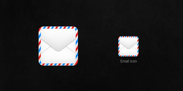 Free PSD: Email Icon by thearslan