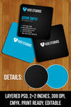 Free PSD: Mini Business Cards