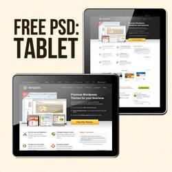 Free PSD tablet