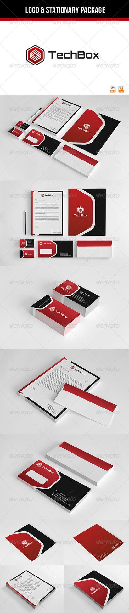 TechBox Corporate Identity by thearslan