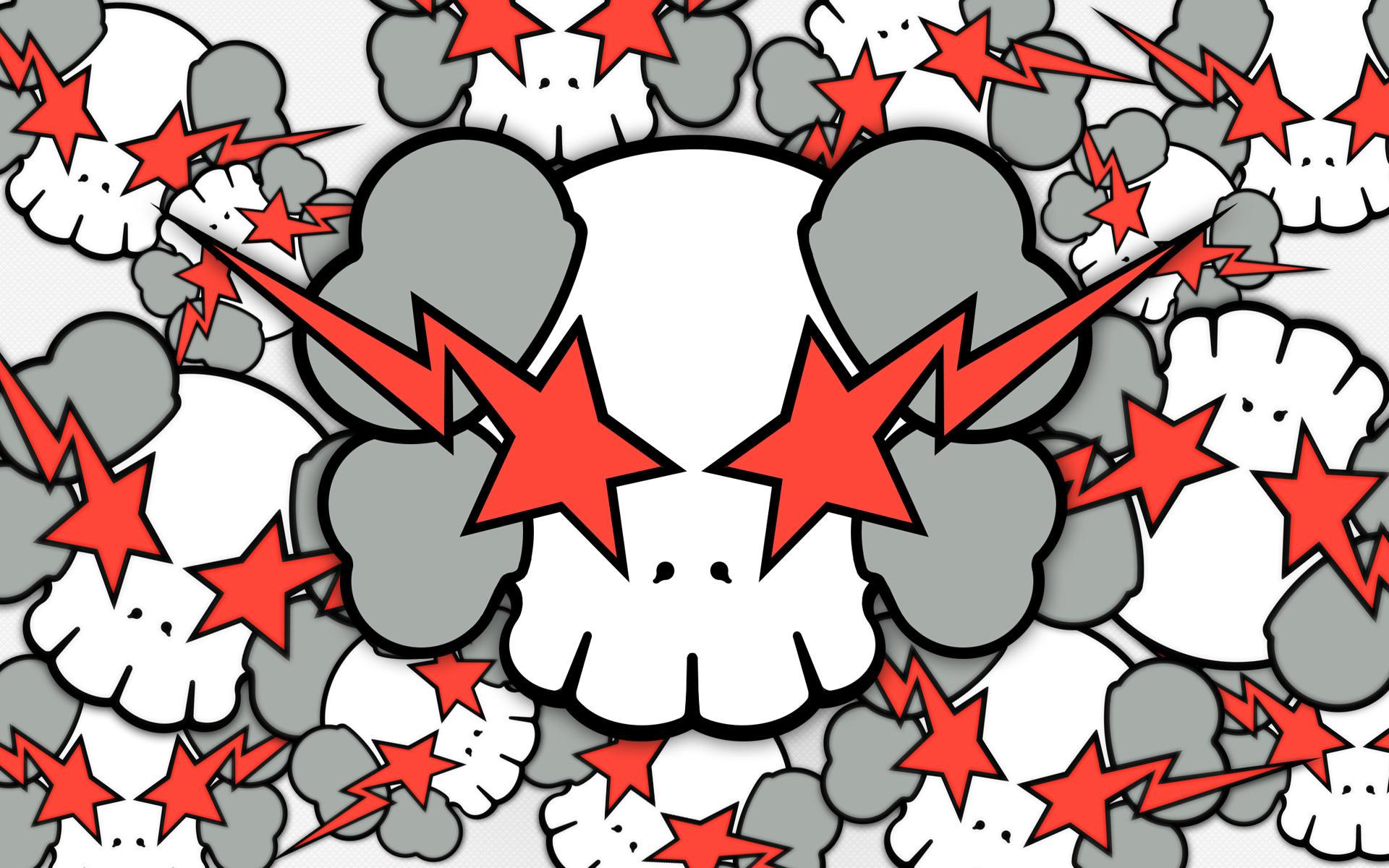 KAWS X Skulls by KeyzerSoze
