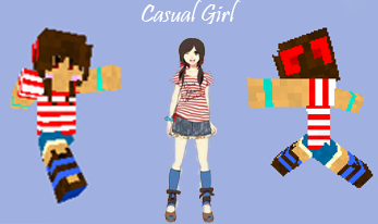 Cute girl minecraft skin by amayanina on deviantart cute girl minecraft skin by amayanina sciox Choice Image